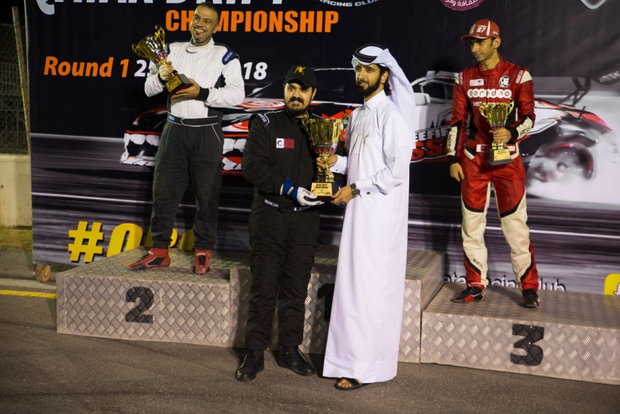 Mohamad takes 1st at the Qatar Drift Championship Round 1!